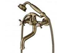 KAISER Cross 41022-1, смеситель для ванны Bronze (бронзовый)