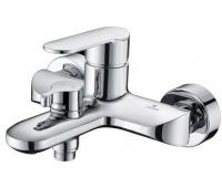 KAISER Estilo 62022, смеситель для ванны, короткий излив, картридж ф35, с душевым комплектом