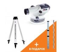 АКЦИЯ Оптический нивелир ADA BASIS+Light S+подарок Staff3