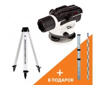 АКЦИЯ Оптический нивелир ADA RUBER-X32+Light S+подарок Staff3