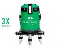 Лазерный уровень (нивелир) ADA 6D SERVOLINER GREEN