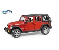 Внедорожник Bruder Jeep Wrangler Unlimited Rubicon