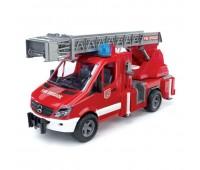 Mercedes Sprinter - пожарная машина с функцией разбрызгивания воды, свет и звук (Bruder, 02-532)