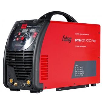 FUBAG Инвертор сварочный INTIG 400 T AC/DC PULSE c горелкой FB TIG 26 5P 4m (38459)