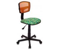 Кресло детское Бюрократ CH-299/OR/PENCIL-GN спинка сетка зеленый карандаши