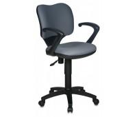Кресло Бюрократ CH-540AXSN-LOW/26-25 низкая спинка серый 26-25