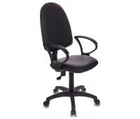 Компьютерное кресло Бюрократ CH-1300/OR-16 черный Престиж+ искусственная кожа