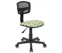 Кресло детское Бюрократ CH-299NX/DOLLS-GR спинка сетка черный TW-01 сиденье зеленый куколки