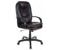 Кресло руководителя Бюрократ CH-1868/#B черный искусственная кожа (пластик черный)