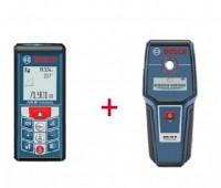 Набор Bosch лазерный дальномер GLM 80 + детектор GMS 100