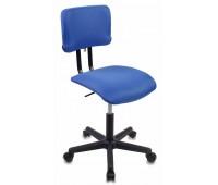 Кресло Бюрократ CH-1200NX/BLUE без подлокотников синий