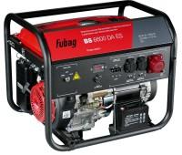 FUBAG Электростанция бензиновая с электростартером и коннектором автоматики BS 6600 DA ES