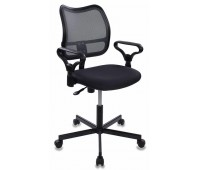 Кресло Бюрократ CH-799M/DG/TW-12 спинка сетка темно-серый сиденье серый TW-12 крестовина металл