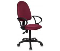 Компьютерное кресло Бюрократ CH-1300/CHERRY бордовый Престиж+