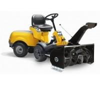 Райдер Stiga Park Pro 20 4WD + роторный снегоуборщик