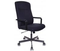 Кресло руководителя Бюрократ DOMINUS-FB черный TS-584 крестовина металл