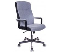 Кресло руководителя Бюрократ DOMINUS-FG серый крестовина металл