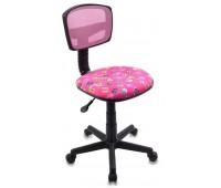 Кресло детское Бюрократ CH-299/PK/FLIPFLOP_P спинка сетка розовый сланцы