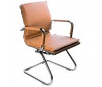 Кресло Бюрократ CH-993-Low-V/Camel низкая спинка светло-коричневый искусственная кожа