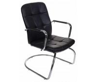 Кресло Бюрократ CH-909-LOW-V/BLACK черный искусственная кожа