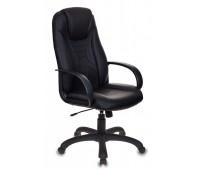 Кресло игровое Бюрократ VIKING-8/BLACK черный/черный искусственная кожа