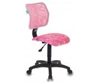 Кресло детское Бюрократ CH-295/PK/FLIPFLOP_P спинка сетка розовый сланцы FLIPFLOP_P