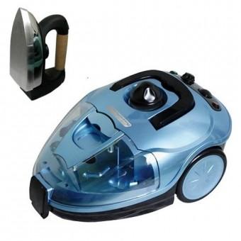 Пароочиститель KRAUSEN BLUE STEAM в комплекте с утюгом
