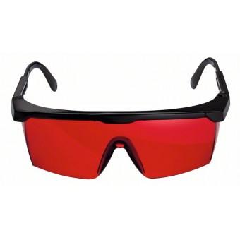 Очки для наблюдения за лазерным лучом Очки для наблюдения за лазерным лучом (цвет красный)