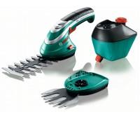Аккумуляторные ножницы для травы и кустов, комплект Bosch Isio