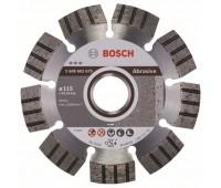 Bosch Алмазный отрезной круг Best for Abrasive 115 x 22,23 x 2,2 x 12 мм (2608602679)