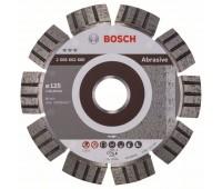 Bosch Алмазный отрезной круг Best for Abrasive 125 x 22,23 x 2,2 x 12 мм (2608602680)