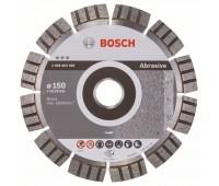 Bosch Алмазный отрезной круг Best for Abrasive 150 x 22,23 x 2,4 x 12 мм (2608602681)