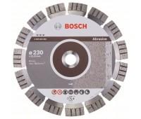 Bosch Алмазный отрезной круг Best for Abrasive 230 x 22,23 x 2,4 x 15 мм (2608602683)