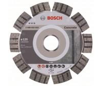 Bosch Алмазный отрезной круг Best for Concrete 125 x 22,23 x 2,2 x 12 мм (2608602652)
