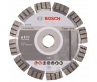 Bosch Алмазный отрезной круг Best for Concrete 150 x 22,23 x 2,4 x 12 мм (2608602653)