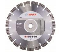 Bosch Алмазный отрезной круг Best for Concrete 300 x 22,23 x 2,8 x 15 мм (2608602656)