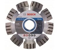 Bosch Алмазный отрезной круг Best for Stone 115 x 22,23 x 2,2 x 12 мм (2608602641)