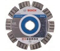 Bosch Алмазный отрезной круг Best for Stone 125 x 22,23 x 2,2 x 12 мм (2608602642)