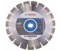 Bosch Алмазный отрезной круг Best for Stone 300 x 22,23 x 2,8 x 15 мм (2608602646)