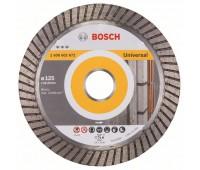 Bosch Алмазный отрезной круг Best for Universal Turbo 125 x 22,23 x 2,2 x 12 мм (2608602672)