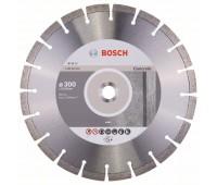Bosch Алмазный отрезной круг Expert for Concrete 300 x 22,23 x 2,8 x 12 мм (2608602694)