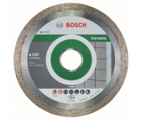 Bosch Алмазный отрезной круг Standard for Ceramic 125 x 22,23 x 1,6 x 7 мм (2608603232)