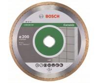 Bosch Алмазный отрезной круг Standard for Ceramic 200 x 25,40 x 1,6 x 7 мм (2608602537)