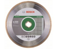 Bosch Алмазный отрезной круг Standard for Ceramic 250 x 30+25,40 x 1,6 x 7 мм (2608602539)