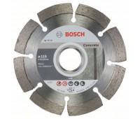 Bosch Алмазный отрезной круг Standard for Concrete 115 x 22,23 x 1,6 x 10 мм (2608603239)