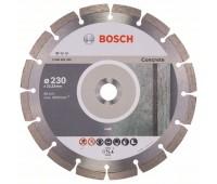 Bosch Алмазный отрезной круг Standard for Concrete 230 x 22,23 x 2,3 x 10 мм (2608602200)
