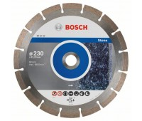 Bosch Алмазный отрезной круг Standard for Stone 230 x 22,23 x 2,3 x 10 мм (2608603238)