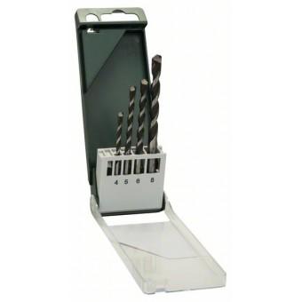 Bosch DIY Набор из 4 универсальных свёрл 4,0x75, 5,0x85, 6,0x100, 8,0x120 (2609255480)