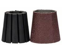 Bosch DIY Системные принадлежности для PRR 250 ES Хвостовик и шлифкольцо (коническое), комплект (1600A00156)