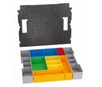 Bosch Контейнеры для хранения мелких деталей Комплект L-BOXX 102 inset box, 12шт. (1600A001RZ)